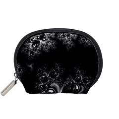 Midnight Frost Fractal Accessory Pouch (Small)