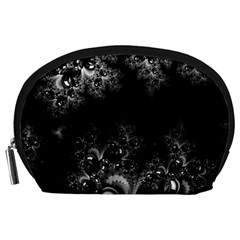 Midnight Frost Fractal Accessory Pouch (Large)