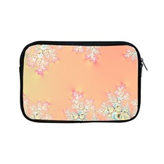 Peach Spring Frost On Flowers Fractal Apple Ipad Mini Zippered Sleeve