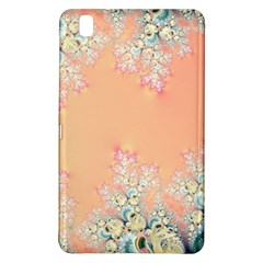 Peach Spring Frost On Flowers Fractal Samsung Galaxy Tab Pro 8.4 Hardshell Case