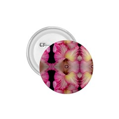 Pink Gladiolus Flowers 1 75  Button