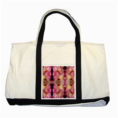 Pink Gladiolus Flowers Two Toned Tote Bag