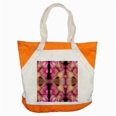 Pink Gladiolus Flowers Accent Tote Bag