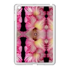 Pink Gladiolus Flowers Apple Ipad Mini Case (white)