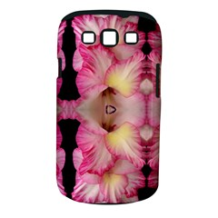 Pink Gladiolus Flowers Samsung Galaxy S III Classic Hardshell Case (PC+Silicone)