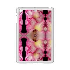 Pink Gladiolus Flowers Apple iPad Mini 2 Case (White)