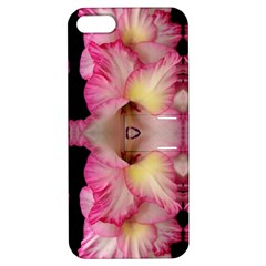 Pink Gladiolus Flowers Apple Iphone 5 Hardshell Case With Stand