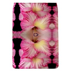 Pink Gladiolus Flowers Removable Flap Cover (small)