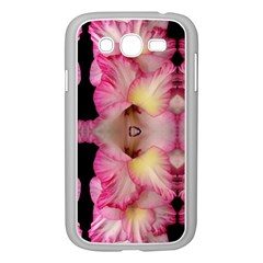 Pink Gladiolus Flowers Samsung Galaxy Grand DUOS I9082 Case (White)
