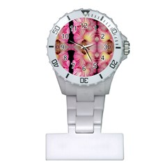Pink Gladiolus Flowers Nurses Watch