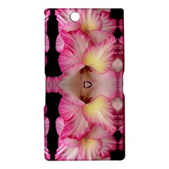 Pink Gladiolus Flowers Sony Xperia Z Ultra (XL39H) Hardshell Case