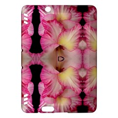 Pink Gladiolus Flowers Kindle Fire HDX 7  Hardshell Case