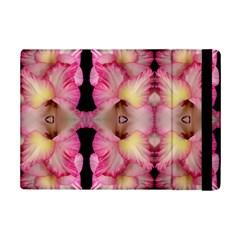 Pink Gladiolus Flowers Apple iPad Mini 2 Flip Case