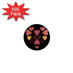 Love Collage 1  Mini Button Magnet (100 pack)