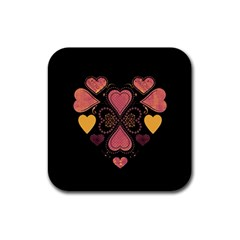 Love Collage Drink Coasters 4 Pack (square)