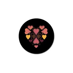 Love Collage Golf Ball Marker 4 Pack