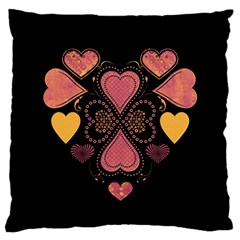 Love Collage Large Cushion Case (two Sided)