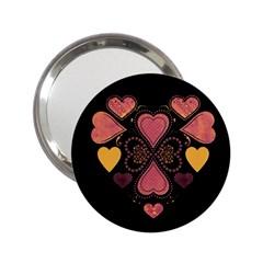 Love Collage Handbag Mirror (2 25 )