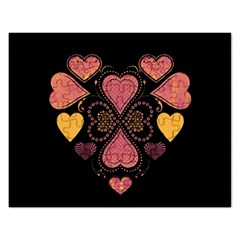 Love Collage Jigsaw Puzzle (rectangle)