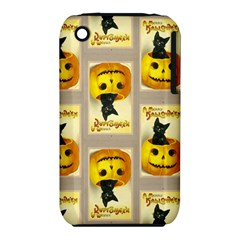 A Merry Hallowe en Apple iPhone 3G/3GS Hardshell Case (PC+Silicone)