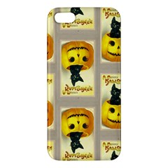 A Merry Hallowe en iPhone 5S Premium Hardshell Case