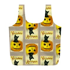 A Merry Hallowe en Reusable Bag (L)