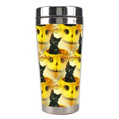 A Merry Hallowe en Stainless Steel Travel Tumbler
