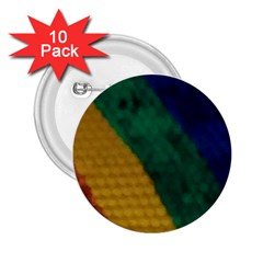 Rainbow 2.25  Button (10 pack)