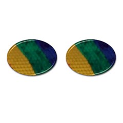 Rainbow Cufflinks (Oval)