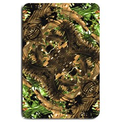 Artificial Tribal Jungle Print Large Door Mat