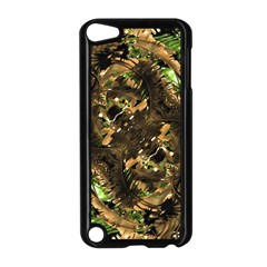 Artificial Tribal Jungle Print Apple iPod Touch 5 Case (Black)