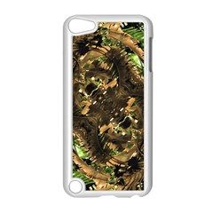 Artificial Tribal Jungle Print Apple iPod Touch 5 Case (White)