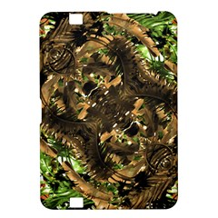 Artificial Tribal Jungle Print Kindle Fire Hd 8 9  Hardshell Case