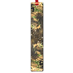 Artificial Tribal Jungle Print Large Bookmark