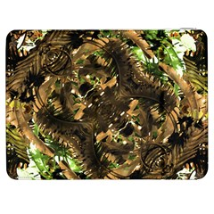 Artificial Tribal Jungle Print Samsung Galaxy Tab 7  P1000 Flip Case