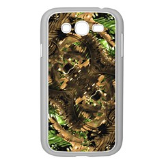 Artificial Tribal Jungle Print Samsung Galaxy Grand Duos I9082 Case (white)