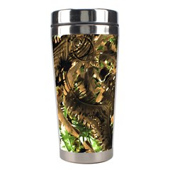 Artificial Tribal Jungle Print Stainless Steel Travel Tumbler