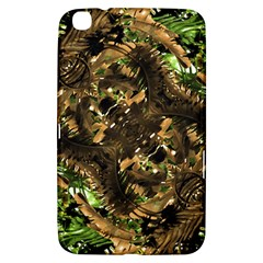 Artificial Tribal Jungle Print Samsung Galaxy Tab 3 (8 ) T3100 Hardshell Case