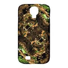 Artificial Tribal Jungle Print Samsung Galaxy S4 Classic Hardshell Case (pc+silicone)
