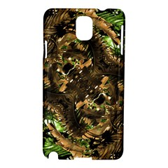 Artificial Tribal Jungle Print Samsung Galaxy Note 3 N9005 Hardshell Case