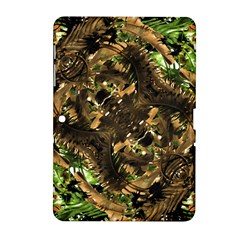 Artificial Tribal Jungle Print Samsung Galaxy Tab 2 (10.1 ) P5100 Hardshell Case
