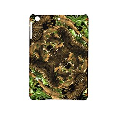 Artificial Tribal Jungle Print Apple iPad Mini 2 Hardshell Case
