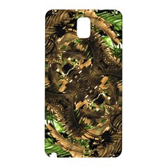 Artificial Tribal Jungle Print Samsung Galaxy Note 3 N9005 Hardshell Back Case