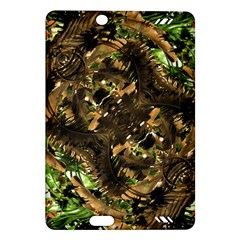 Artificial Tribal Jungle Print Kindle Fire HD 7  (2nd Gen) Hardshell Case