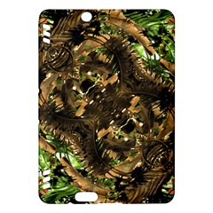 Artificial Tribal Jungle Print Kindle Fire Hdx 7  Hardshell Case