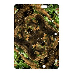 Artificial Tribal Jungle Print Kindle Fire Hdx 8 9  Hardshell Case