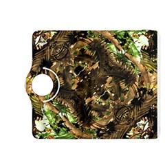Artificial Tribal Jungle Print Kindle Fire HDX 8.9  Flip 360 Case