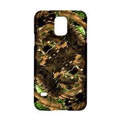 Artificial Tribal Jungle Print Samsung Galaxy S5 Hardshell Case