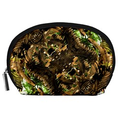 Artificial Tribal Jungle Print Accessory Pouch (Large)