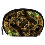 Artificial Tribal Jungle Print Accessory Pouch (Large) Front